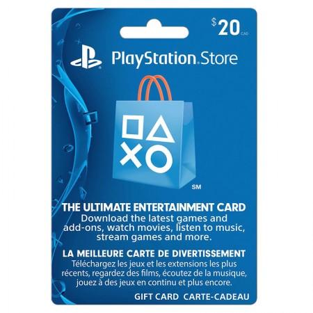 PSN 20$ Gift Card - USD