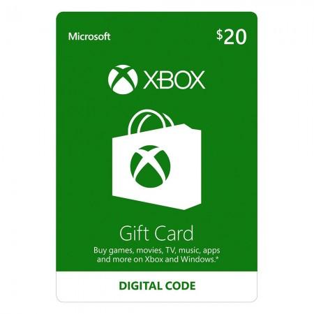 XBOX 20$ Gift Card US