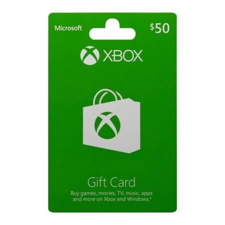 XBOX 50$ Gift Card US