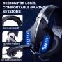 Onikuma K18 Gaming Headset - Blue/Black