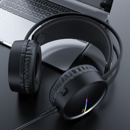 hoco. W100 Touring Gaming Headset - Black