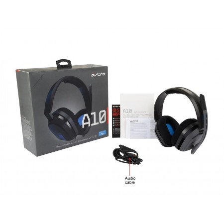 ASTRO Gaming A10 Wired Headset Black/Blue