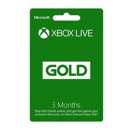 Xbox Live 3 Month Gold Membership